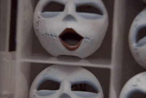 And Sally Had A Mask For Every Expression Change With Images