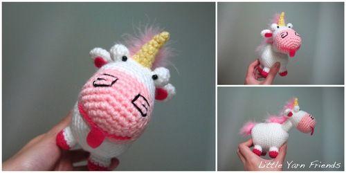 Amigurumi Unicornio Gru : Tuto gratuit licorne amigurumis pinterest tricot et