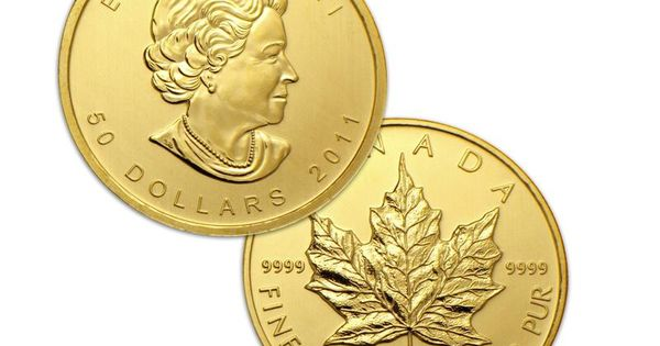The Canadian Gold Maple Leaf Is The Official Gold Bullion