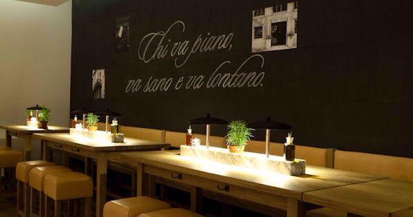 Chi va piano va sano e va lontano dit mooie italiaanse spreekwoord wil zeggen 39 wie rustig - Keukenmuur deco ...