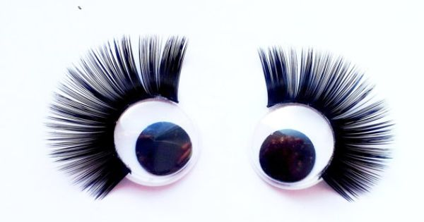 Amigurumi Eyelashes : craft wiggly google eyes eyelashes 15 mm 5 pairs by ...