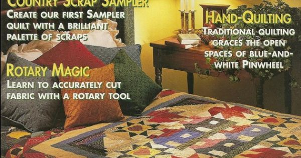 Better Homes And Gardens American Patchwork Quilting Magazine February 1994 Gardens Better