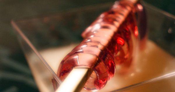 Spaghetti de fruits rouges cuisine mol culaire cuisine - Spaghetti cuisine moleculaire ...