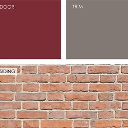 Pictures Of Exterior House Paint Colors Brick Exterior House Red Brick House Exterior House Color
