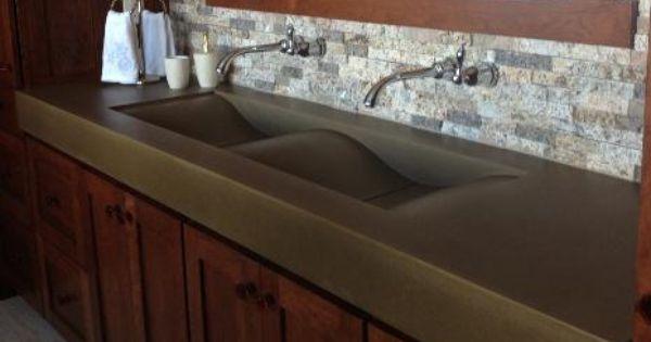 Do It Yourself Home Design: Concrete Countertops Do It Yourself