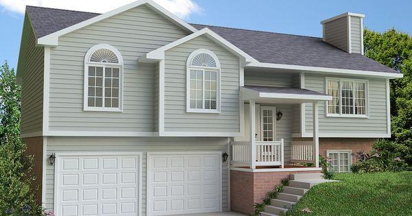 Home Plans Porch Design Front Porch Design Split Foyer