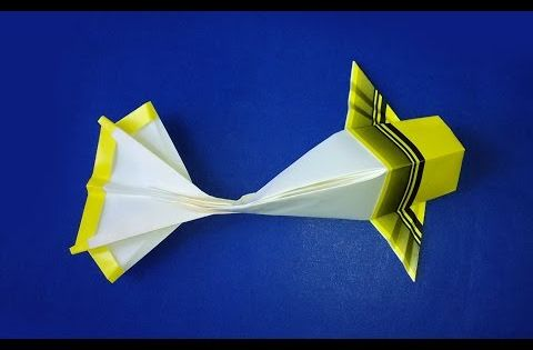 How to make origami koi origami fish easy paper fish for Origami koi fish easy
