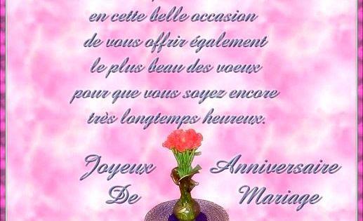Jolie Carte Anniversaire De Mariage 50 Ans