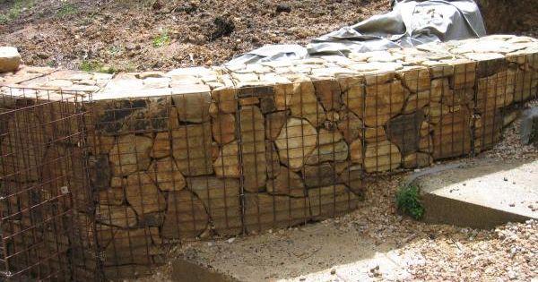 Gabian basket landscape basket range sandstone gabion for Gabions phoenix