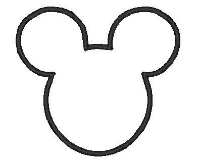 Mickey Mouse Head Pattern Free Patterns Mickey Mouse Head Mickey Mouse Silhouette Mickey Mouse Stencil