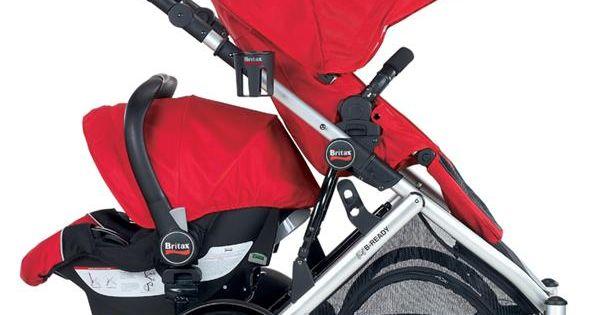 Britax Chaperone Infant Car Seat: Britax Stroller Configuration 10: Forward-facing Stroller