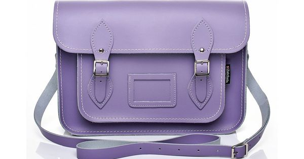 Pastel Violet Lilac Satchel..I love the color