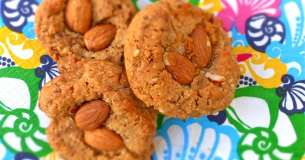 Thumbprint cookies, Almonds and Honey on Pinterest