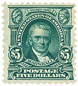 John Marshall Longest Serving Chief Justice Mystic Stamp Discovery Center Rare Stamps Usa Stamps Old Stamps