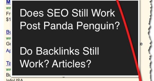 seo does not work