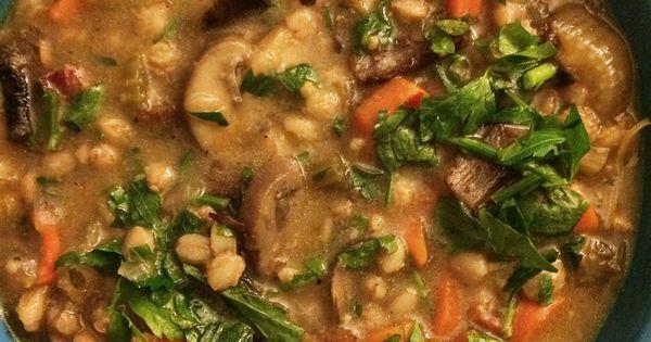 Barefoot contessa farro soup from ina garten 39 s make it - Ina garten make it ahead ...