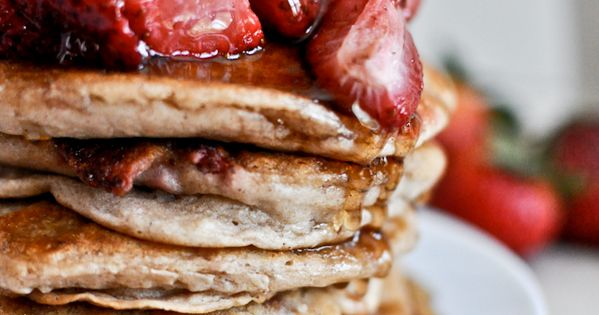 Roasted Strawberries Brown Butter Pancakes 15 other Delicious Breakfast Recipes. recipes breakfast
