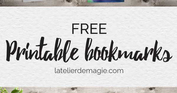 free printable bookmarks from the. Black Bedroom Furniture Sets. Home Design Ideas