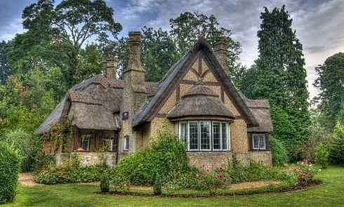 Storybook cottage fairy tale cottages pinterest for Storybook cottage plans