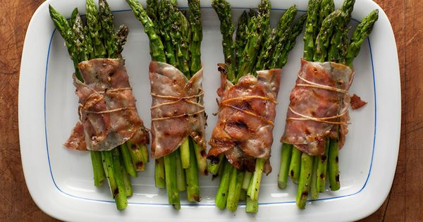 Bacon wrapped asparagus, Asparagus and Bacon wrapped on Pinterest