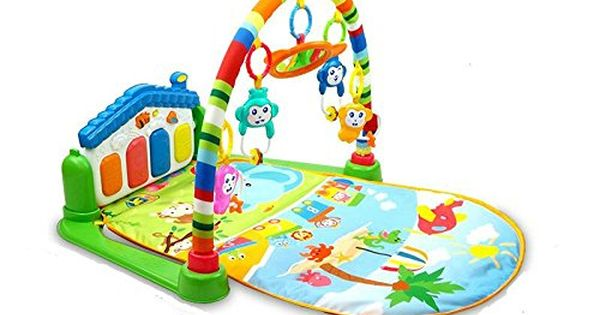 3 in 1 Baby Gym Play Mat Lay /& Play Fitness Music And Lights Fun Piano Girls Boy