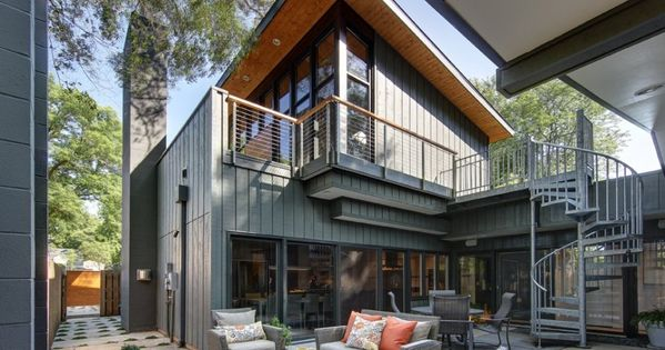 Midvale Courtyard Houes by Bruns Architecture  Houes  Pinterest  인테리어