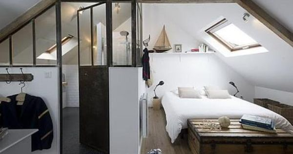 Nice Way To Combine Bed And Bathroom Interior Ideas