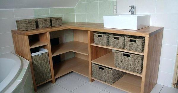 Fabriquer Meuble Salle De Bain Comment Fabriquer Un Meuble Vasque Avec Plan De Travail Comment Fabri Salle De Bain Meuble Salle De Bain Meuble De Salle De Bain