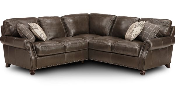 Sofa mart calico hills 2 pc left arm facing sectional for Flexsteel 4 piece sectional sofa with right arm facing chaise in brown
