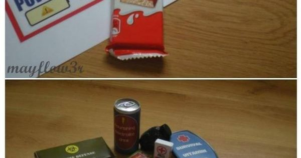 zombie survival kit! Care package idea