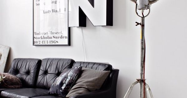 Industrial decor style is perfect for any interior. From living rooms, to