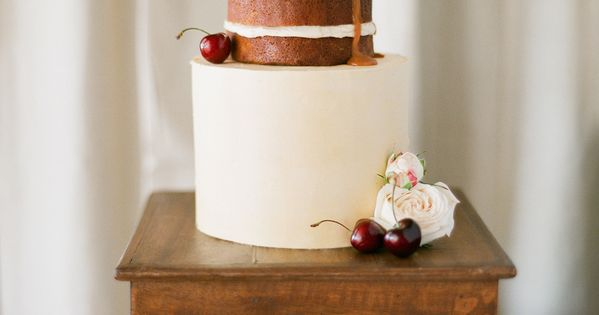 Half Naked Cake by The Cake & I. Delicious Salted Caramel! Photography