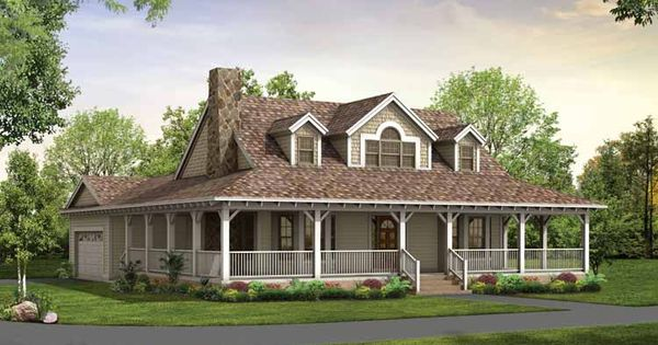 Love Wrap Around Porches Porch House Plans Farm Style House Victorian House Plans