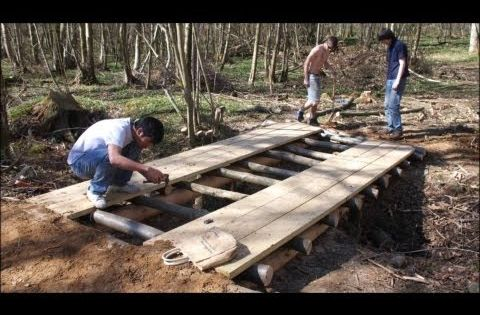 How to build a arched garden bridges pond filter build construction 559 325 2597 youtube - How to build a garden bridge with an arch ...