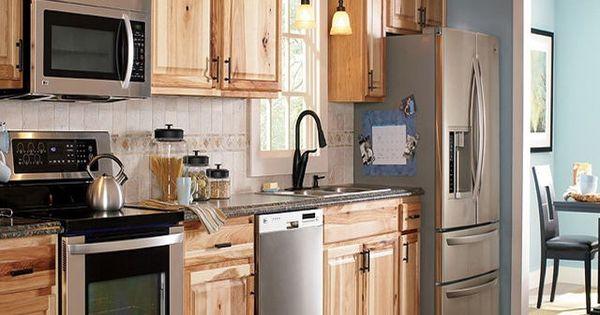 Knotty hickory kitchen cabinets hickory kitchen cabinets pinterest of hickory kitchen - Knotty hickory kitchen cabinets ...