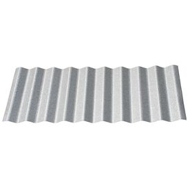 Shop Union Corrugating 2 33 Ft X 10 Ft Corrugated Steel Roof Panel At Lowes Com Steel Roof Panels Roof Panels Corrugated Metal Roof