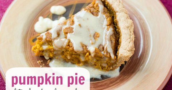 Pumpkin Pie (gluten-free, dairy-free, egg-free) | We love this pumpkin ...