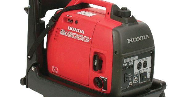 Honda Eu2000i Cart Adds Wheels To Your Eu2000i Includes