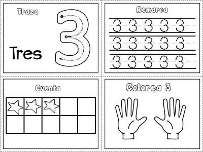 Grafomotricidad Numeros Del 1 Al 10 Imagenes Educativas