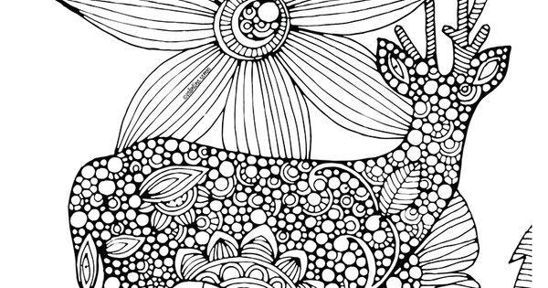 To Print This Free Coloring Page «coloring-difficult-deer