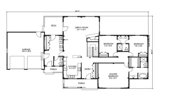 Ranch Style Open Floor Plan Ranch Style House Plans Custom Or Pre Designed Homes Woodhouse