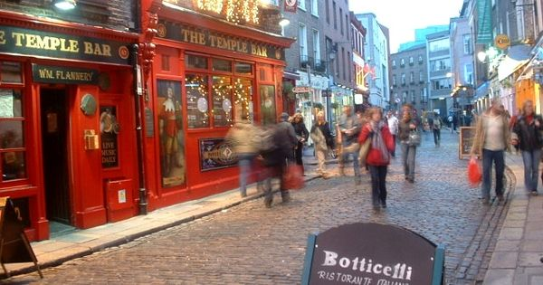 Temple Bar - Dublin, Ireland. I would give anything in the world