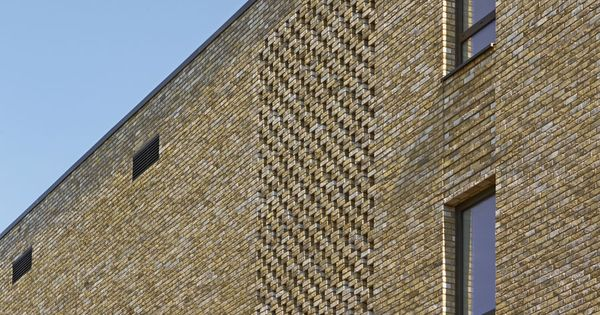 Hit and miss brickwork at the JW3 London | Lifschutz ...