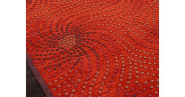 Jaipur Rugs Fables Orange Red Abstract Rug 5 X7 6 Rugs Orange Rugs Area Rugs