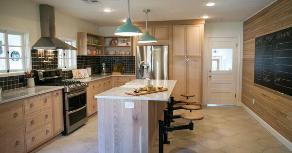 Cerused oak cabinets kitchen pinterest oak cabinets for Cerused oak kitchen cabinets