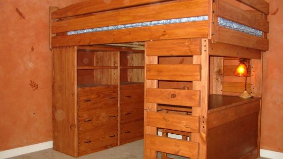 Loft Bed With Dresser And Desk Underneath Diy For The