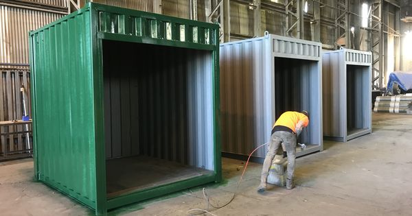 Shipping Containers For Sale In Melbourne Containerspace Shipping Containers For Sale Metal Shop Building Container Coffee Shop