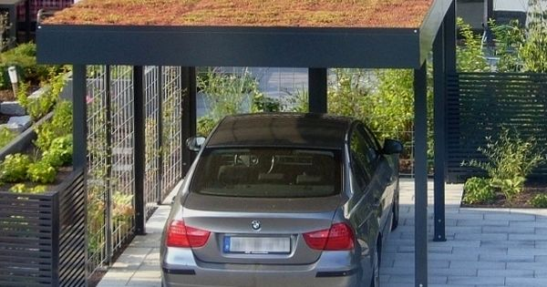 stahl carport mit dachbegr nung von siebau carport einhausungen eingangs berdachung. Black Bedroom Furniture Sets. Home Design Ideas