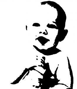 Exemples Photo Pochoir Transformer Vos Photos En Pochoir Ou Sticker Mural Fete Des Grands Meres Pochoir A Imprimer Pochoir Pochoirs Visage