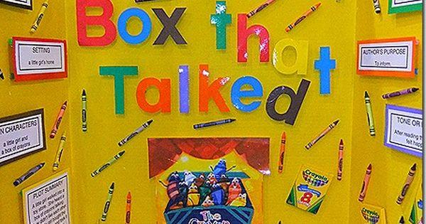 The crayon box that talked reading fair reading pinterest